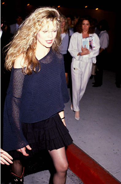 Kim Basinger during Team Dream Premiere on 1989-04-04