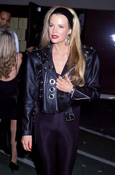 Kim Basinger during MTV Video Music Awards on 1990-06-01