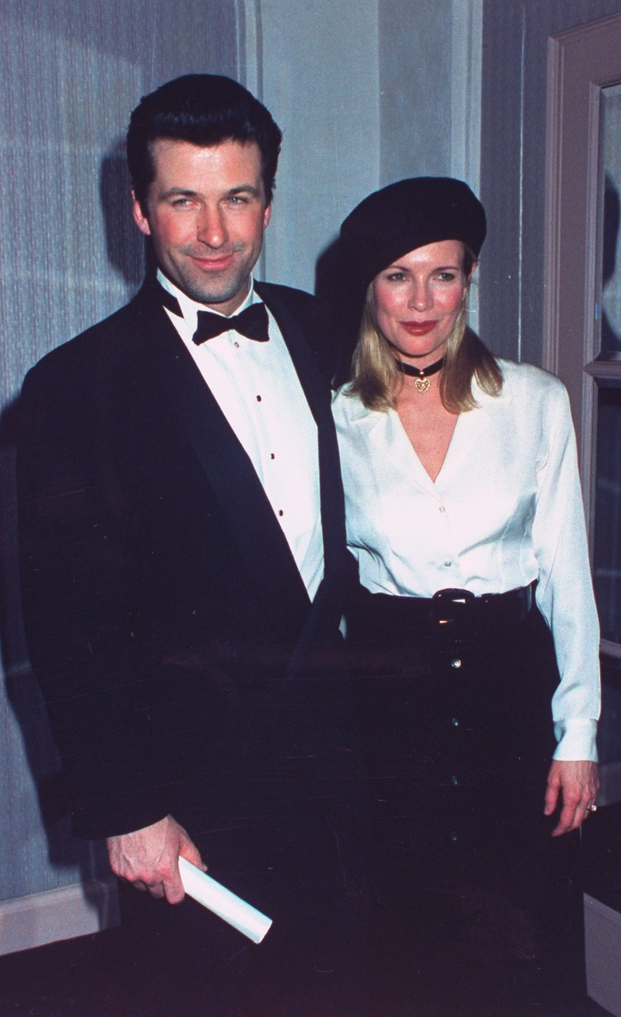 Kim Basinger during Museum of the Moving Image party in honor of actor Al Pacino on 1993-02-20