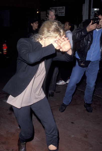 Kim Basinger during Willie Nelson concert on 1993-03-22