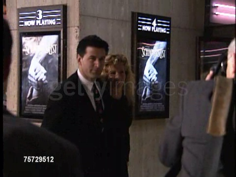 Kim Basinger during Schindler's List Premiere on 1993-12-09