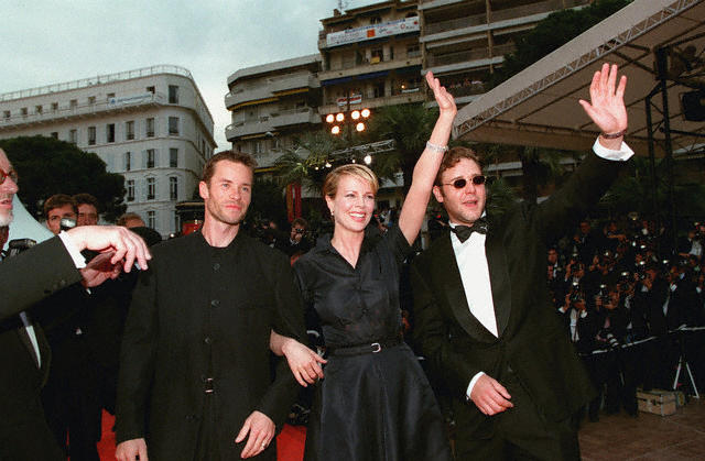Kim Basinger during Cannes Film Festival 1997
