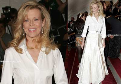 Kim Basinger during Metropolitan Museum of Art New York on 2006-05-01