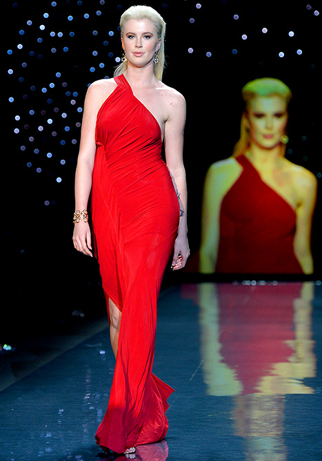 2014-02-06 Annual Heart Truth Red Dress Collection Show On