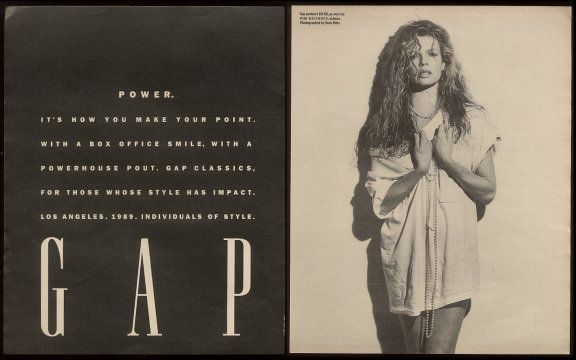 Kim Basinger - Gap - 1989 by Herb Ritt