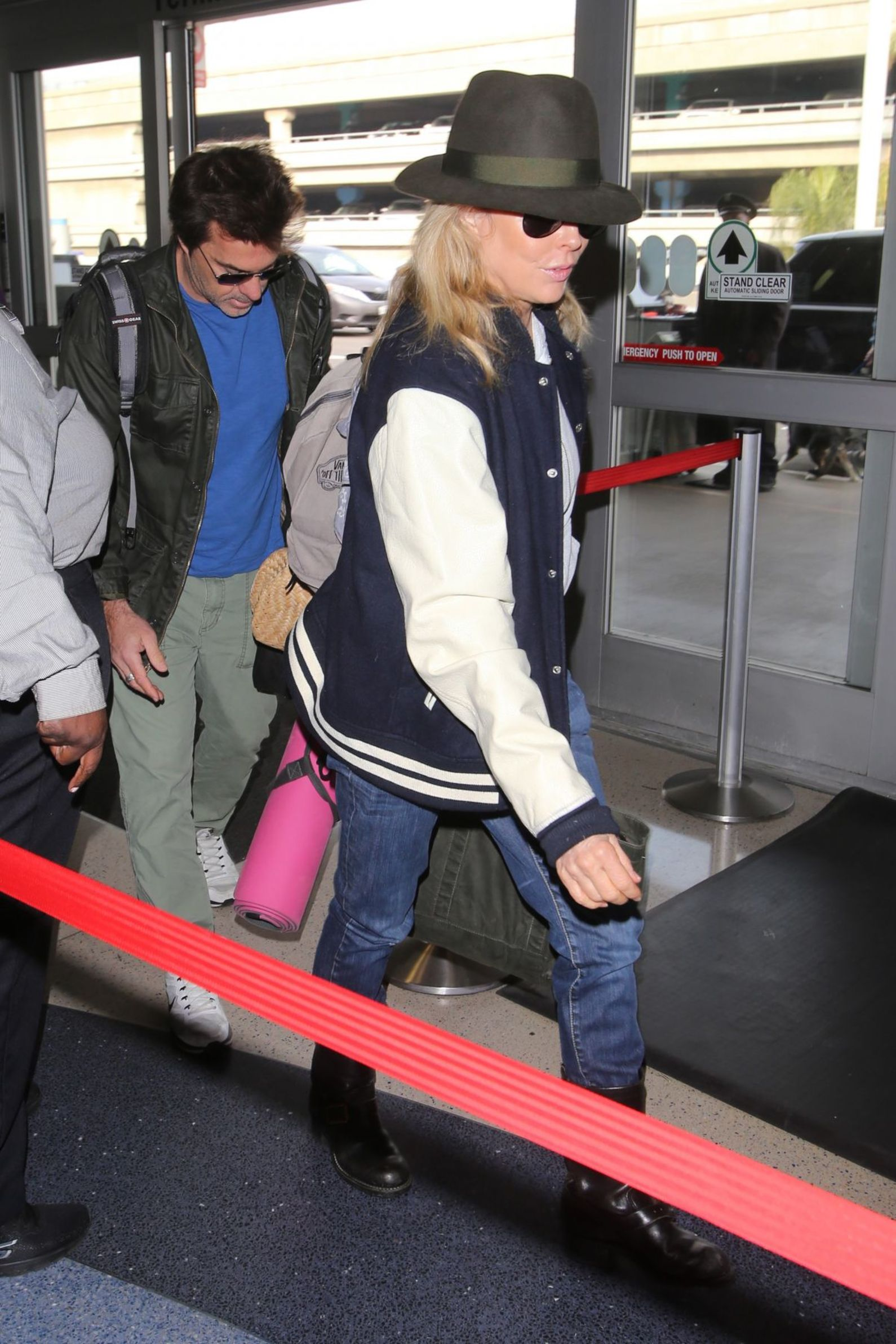 Kim Basinger at LAX airport December 05th 2016