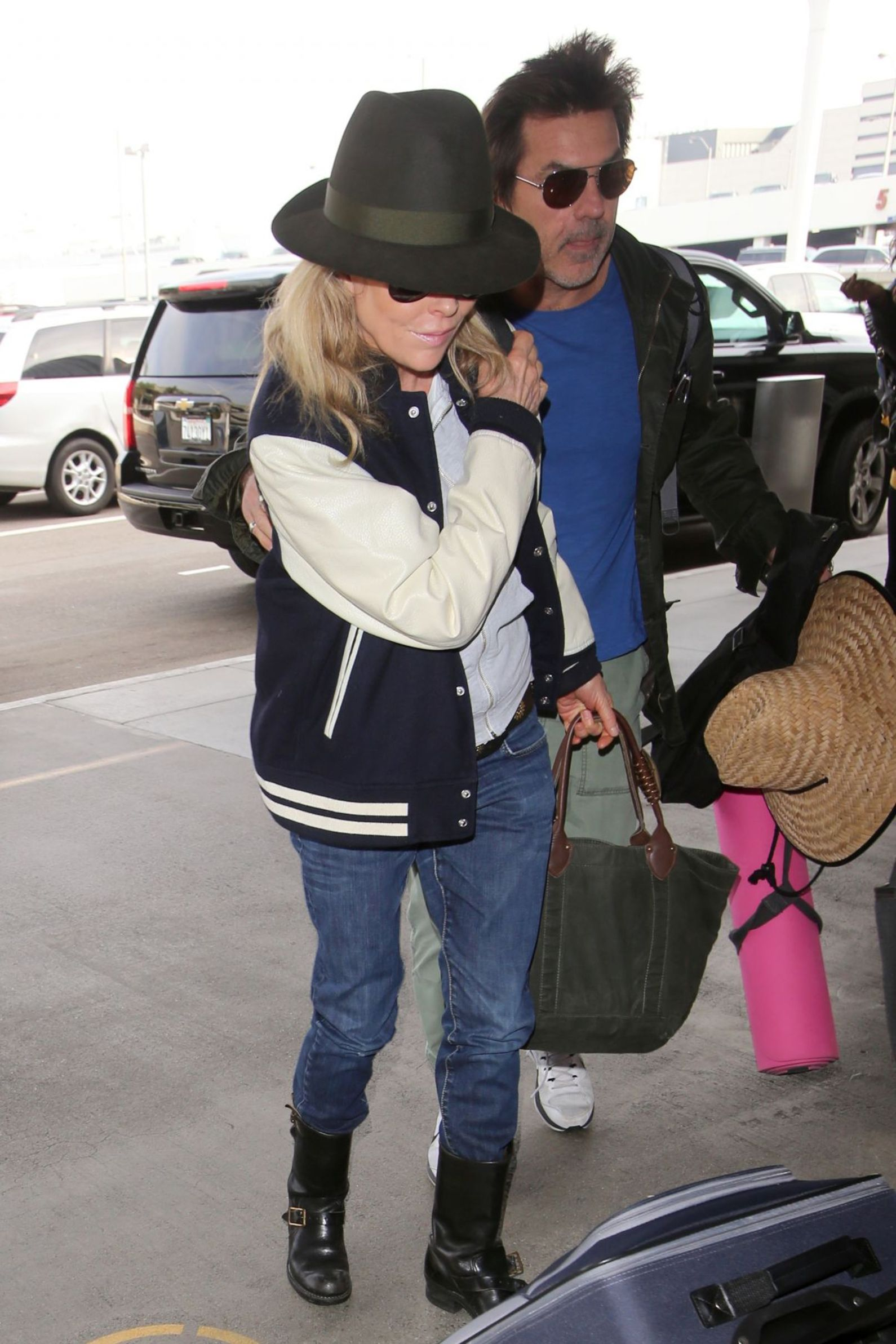 KKim Basinger at LAX airport December 05th 2016