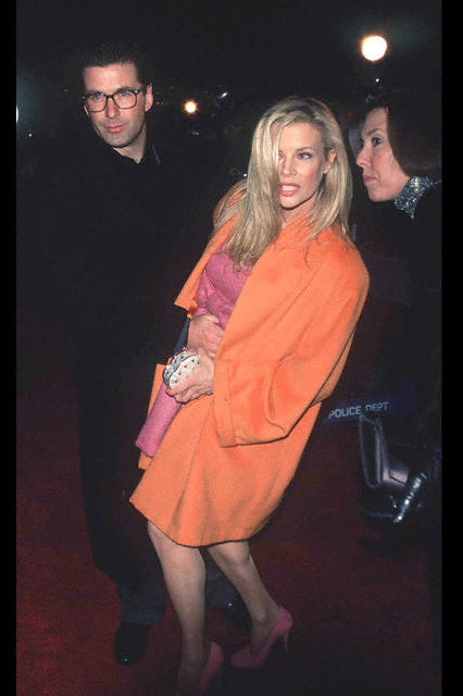 Kim Basinger attends the 'Ready to Wear' New York City Premiere on December 12, 1994 at the Ziegfeld Theatre