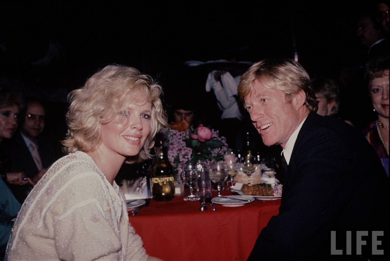 The Natural Premiere - Kim Basinger and Robert Redford