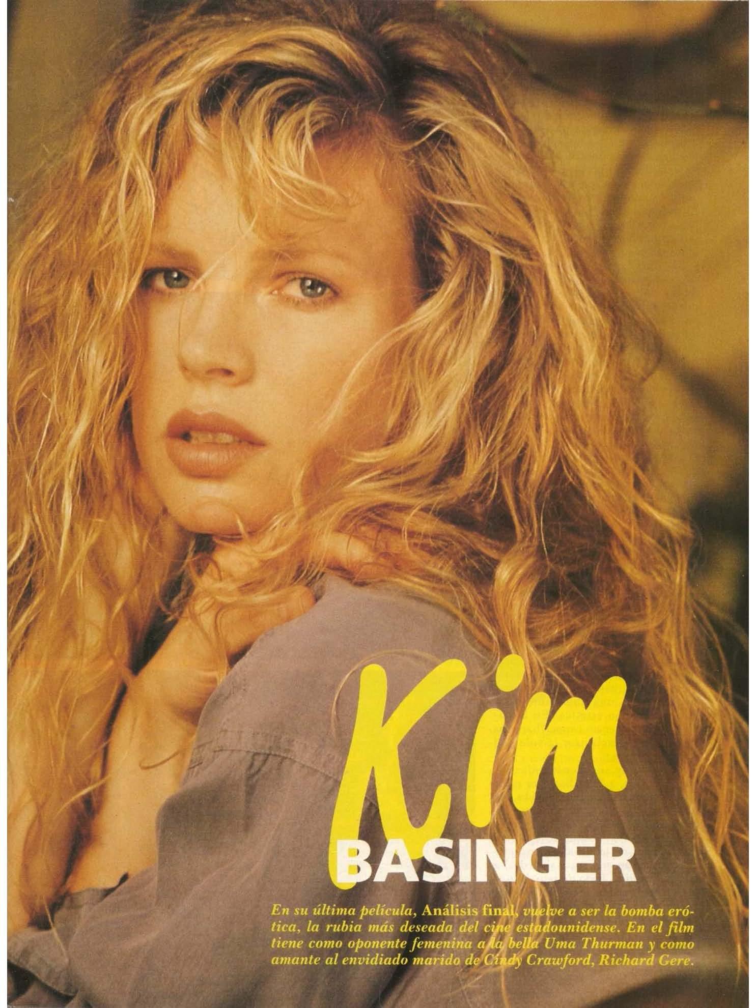 kim basinger playboy spanish 1992