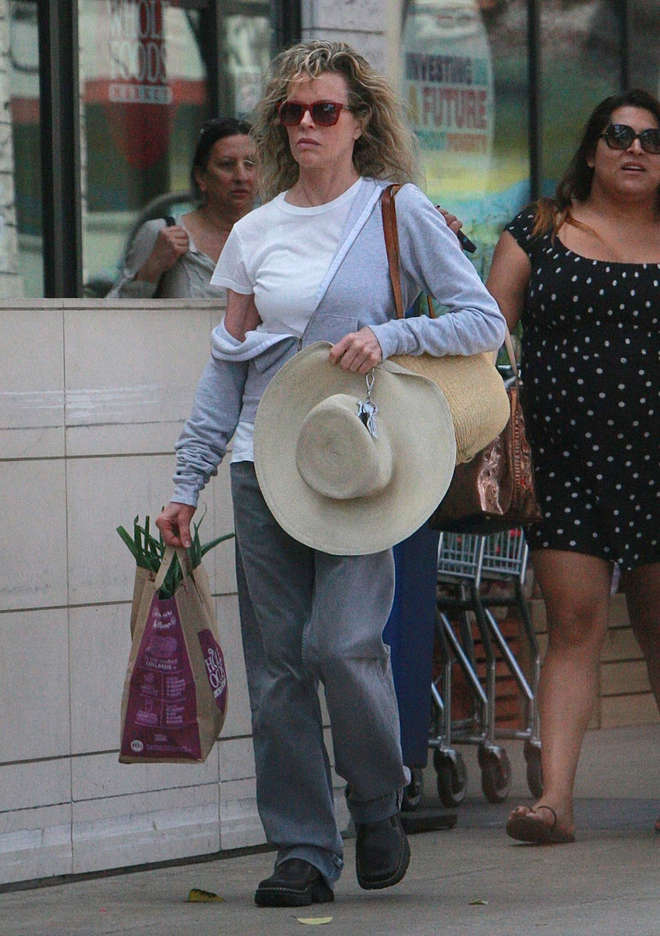 Kim Basinger at Whole Food Market 2014
